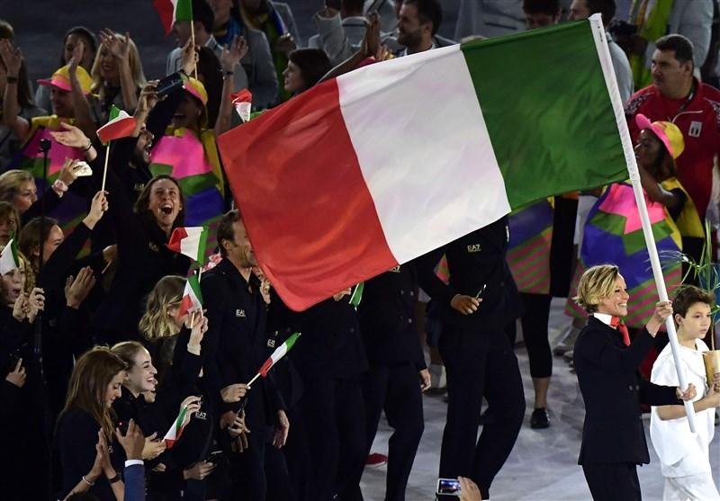احتمال حضور ورزشکاران ایتالیایی در المپیک بدون پرچم