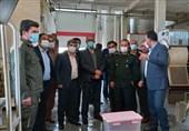 سپاه از مجموعههای تولیدی در استان خوزستان حمایت میکند + تصاویر