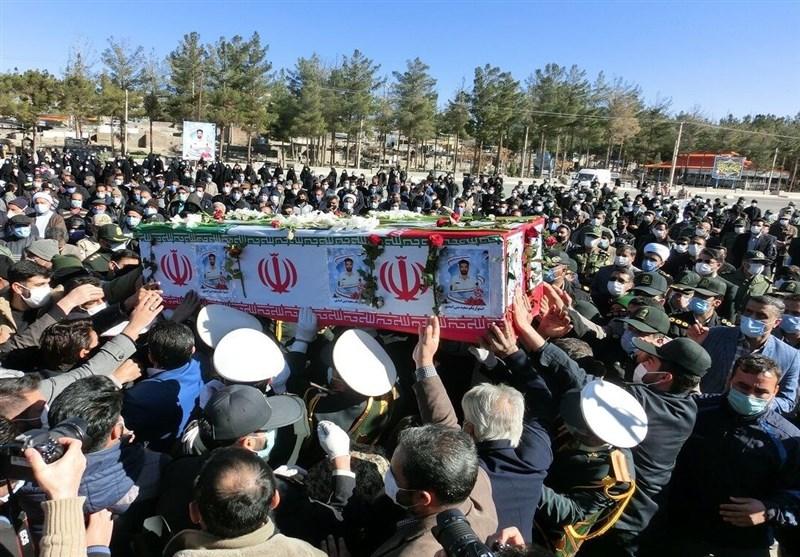 تشییع باشکوه پیکر مطهر شهید مدافع وطن در بیرجند