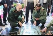 سرلشکر سلامی به مقام شامخ شهید سلیمانی ادای احترام کرد