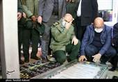 حضور سرلشکر سلامی بر مزار حاجقاسم در گلزار شهدای کرمان بهروایت تصویر