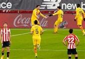 لالیگا  بارسلونا با پیروزی در بازی معوقه به رئال مادرید نزدیک شد
