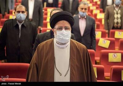 استقبال رئیس السلطة القضائیة الإیرانیة فی العراق