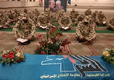 لبنان|برگزاری مراسم سالگرد شهادت حاج قاسم سلیمانی و المهندس در بیروت