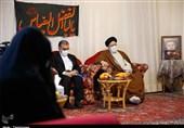 دیدار رئیس قوهقضائیه با خانواده نخستین شهید مدافع حرم کرمانشاه به روایت تصویر