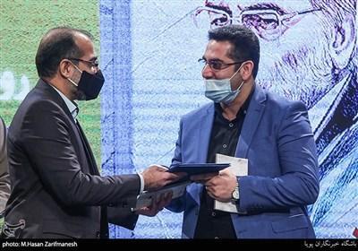 تقدیر از محمدمهدی عبدالهی در آئین رونمای از کتاب «فخر ایران»