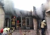 تهران| آتشسوزی در یک گاراژ+ فیلم و تصاویر