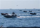 نمایش اقتدار دریایی ایران با یک هزار شناور / خط و نشان سپاه برای آمریکا از خلیج همیشه فارس تا سواحل شمالی کشور