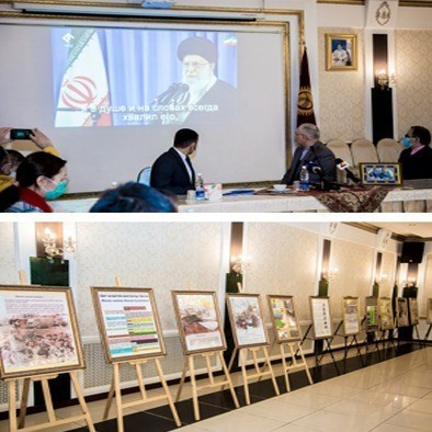 نمایشگاه عکس «نه به تروریسم» برپا شد