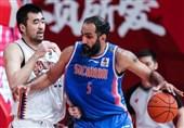 لیگ بسکتبال چین| شکست سیچوان در غیاب حدادی