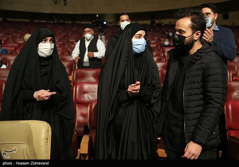 محمدرضا، زینب و فاطمه سلیمانی فرزندان سپهبد شهید حاج قاسم سلیمانی
