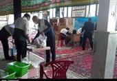 گروه جهادی شهید مجید کلوشادی کرمانشاه برای خدمت به نیازمندان وارد میدان شده است + تصویر