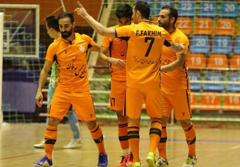 Iran's Mes Sungun Nominated for World's Best Futsal Club