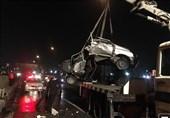 70 درصد تصادفات جادهای قزوین توسط خودروهای سواری اتفاق میافتد