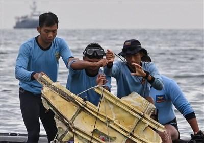 صور جویة لعملیات البحث عن حطام الطائرة الإندونیسیة