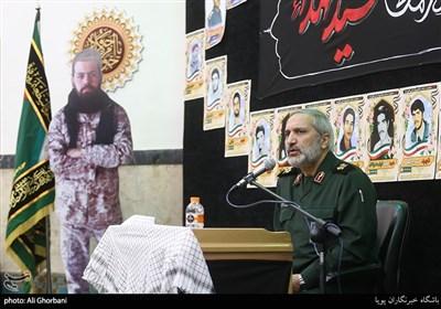 سخنرانی سردار یزدی در مراسم سالکرد شهید مجید قربانخانی