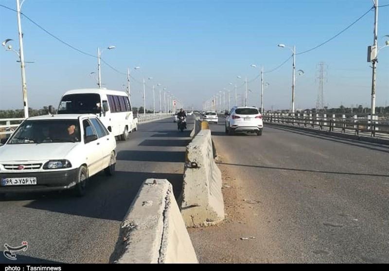 بیمسئولیتی شهرداری کوتعبدالله و اهواز در نگهداری پل ششم کارون + تصاویر