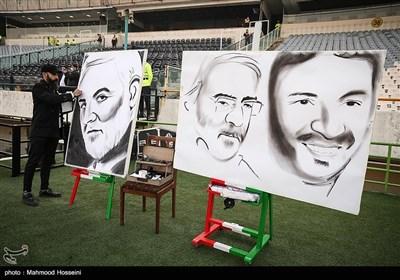 دیدار تیمهای فوتبال استقلال و پرسپولیس