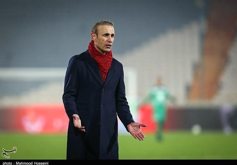 یحیی گلمحمدی در تمرین پرسپولیس حاضر شد