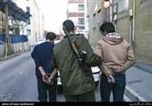 5 اراذل و اوباش فضای مجازی در کاشان دستگیر شدند