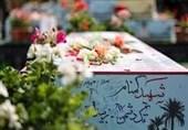 پیکر مطهر شهدای گمنام آذربایجان شرقی را معطر کرد/تشییع خودرویی و تدفین در تبریز و مرند