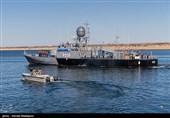 مراسم الحاق ناو موشکانداز زره به ناوگان نیروی دریایی ارتش