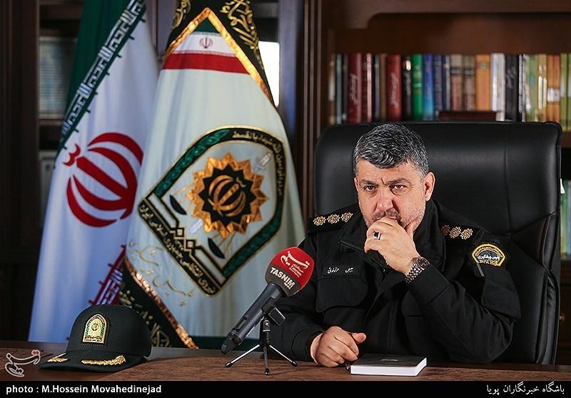 سرهنگ جلیل موقوفهای رئیس پلیس پیشگیری تهران