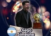 سیمئونه با شکست گواردیولا و کلوپ بهترین مربی دهه اخیر جهان شد