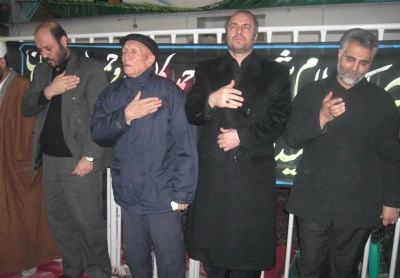 شهید , سردار قاسم سلیمانی , دفاع مقدس ,