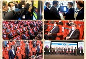 بازدید مدیرعامل بانک صادرات ایران از ششمین نمایشگاه «تراکنش ایران»