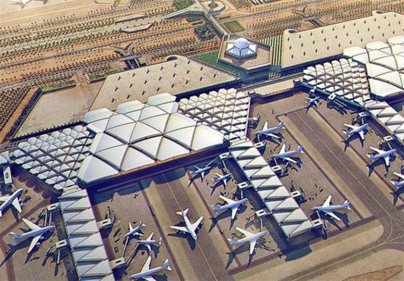 عربستان توقف ناگهانی پروازهای فرودگاه ریاض