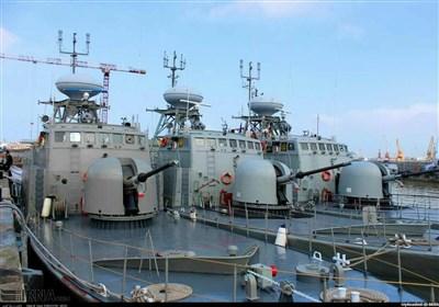 آیین الحاق 340 شناور رزمی به نیروی دریایی سپاه پاسداران انقلاب اسلامی