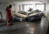 تویویا و پرشیا در زمین پارکینگ فرو رفتند + تصاویر