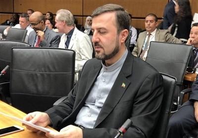 غریب ابادی یدعو الوکالة الذریة الى ادانة الهجمات الارهابیة الصهیونیة على المنشات النوویة الایرانیة