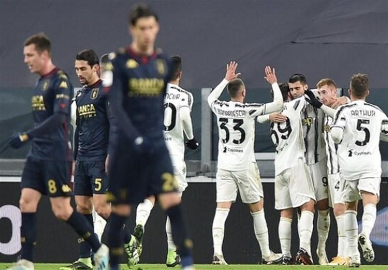 جام حذفی ایتالیا  یوونتوس در وقتهای اضافه و به زحمت صعود کرد