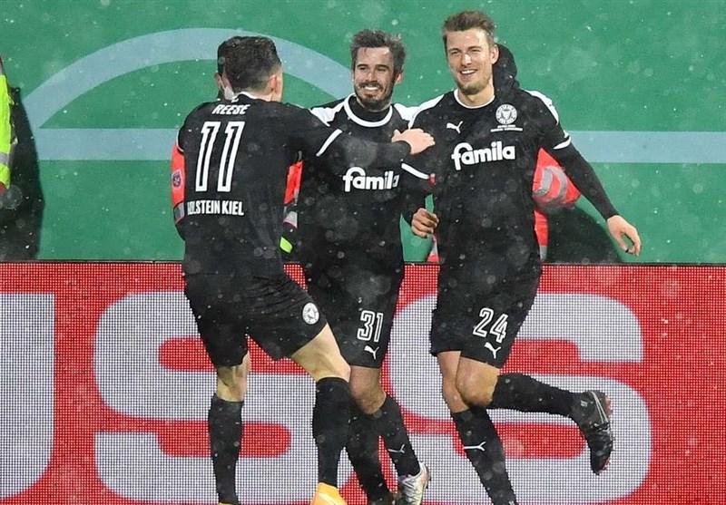 جام حذفی آلمان  بایرن مونیخ با قبول شکست مقابل حریف دسته دومی حذف شد