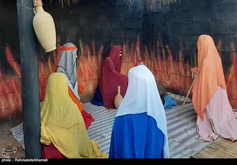 برپایی نمایشگاه حدیث غربت فاطمه سلامالله علیها در بادرود به روایت تصویر