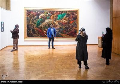 نمایشگاه نقاشی های عاشورایی