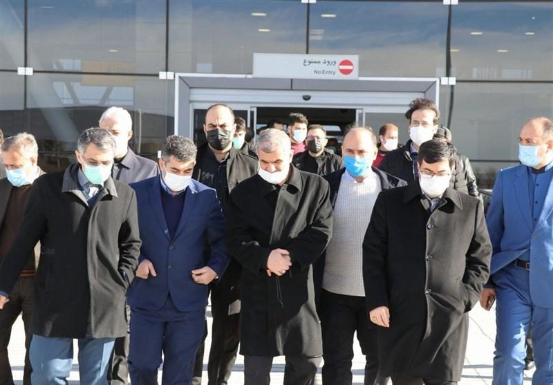 گزارش تصویری از حضور معاون وزیر راه و شهرسازی در اردبیل+تصاویر