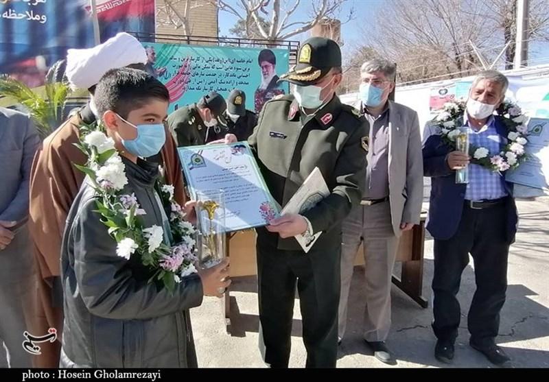 هجدهمین پلیس فتای استان کرمان با کمک جوانترین خیرامنیتساز کشور افتتاح شد + تصویر