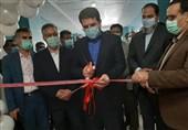 3 پروژه بهداشتی و درمانی و بزرگترین واحد تولید ماسک پزشکی در جیرفت افتتاح شد