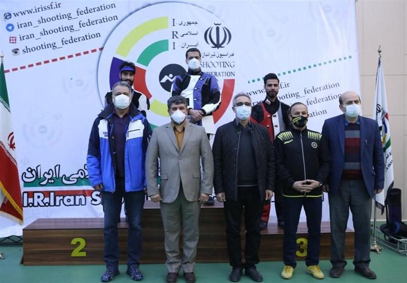 باقری بر سکوی نخست هفته سوم و چهارم لیگ برتر تفنگ بادی مردان ایستاد