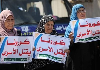 فلسطین افزایش آمار اسیران مبتلا به کرونا به بیش از ۲۲۰ نفر در سایه کوتاهی پزشکی اشغالگران