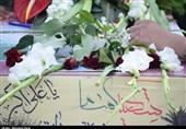 وداع مردم تبریز با 4 شهید گمنام دفاع مقدس + تصاویر