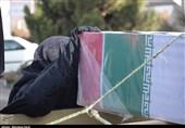"""مراسم تشییع شهدای اقتدار""""حسین عابدی"""" و """"سید مرتضی کریمی"""" در فردیس برگزار میشود"""