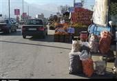 وانتها جولانگر سنندج/ چرا مسئولان شهری این وضعیت آشفته بازار را ساماندهی نمیکنند؟+تصاویر