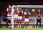 لیگ برتر انگلیس  آرسنال مقابل شاگردان هاجسون متوقف شد