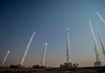 ایران .. المرحلة الأولى من المناورات الصاروخیة والطائرات المسیرة