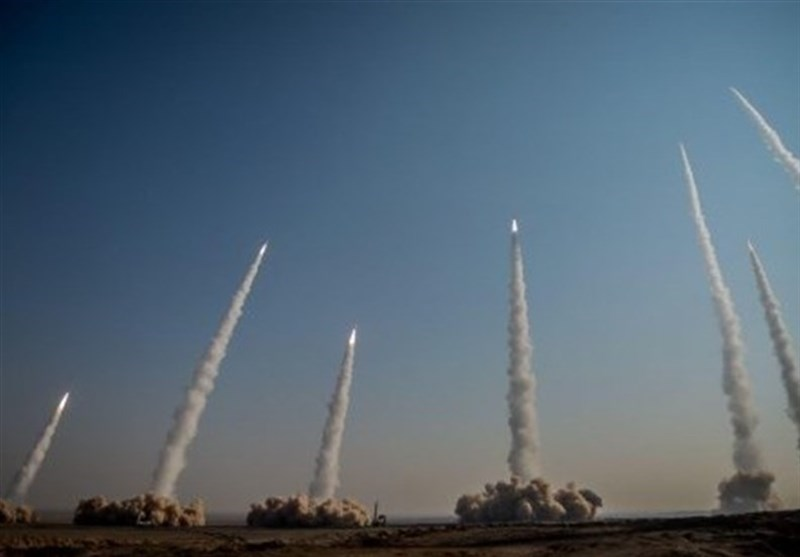 Iran's IRGC Begins Military Drills by Firing Multiple Guided Ballistic Missiles