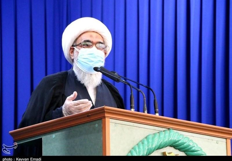 امام جمعه بوشهر: مجمع کشورهای اسلامی در مقابله با آمریکا برای لغو تحریم آستان قدس تشکیل شود